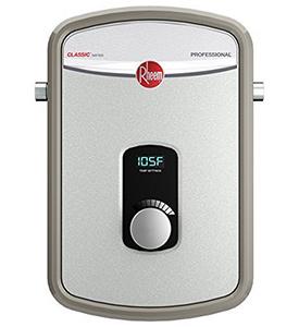 best RHEEM RTEX 13 residential electric tankless water heater