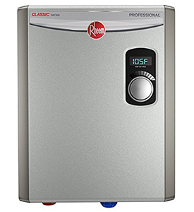 best RHEEM RTEX 18 Residential electric tankless water heater