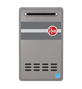 best rheem RTG 84XLN outdoor gas tankless hot water heater
